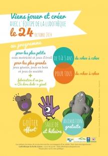 Ludothèque La boite à jeux, animation gratuite 2014